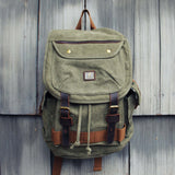 Nanum Falls Backpack in Sage: Alternate View #1