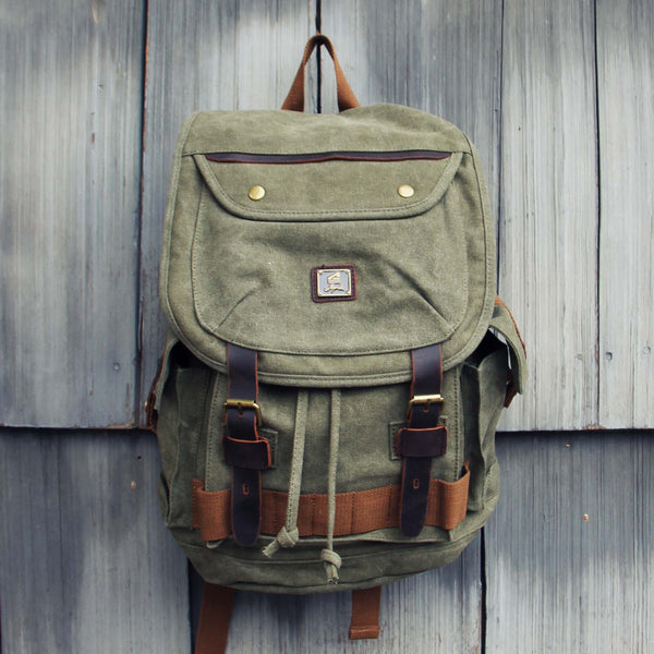 Nanum Falls Backpack in Sage: Featured Product Image