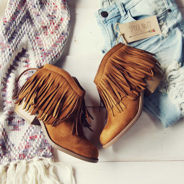 Nevada Fringe Boots: Featured Product Image