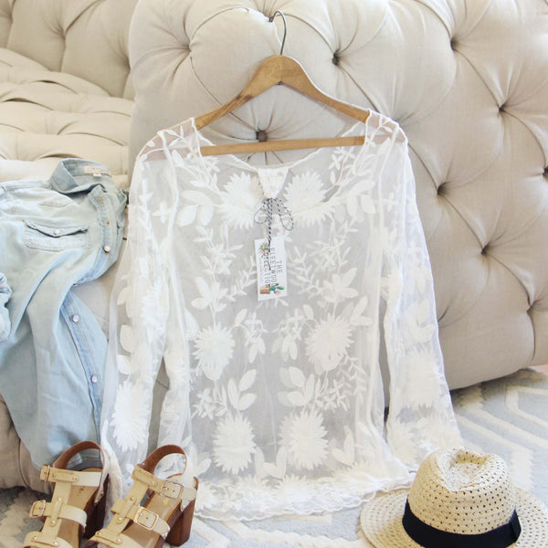 Nevada Lace Top: Featured Product Image