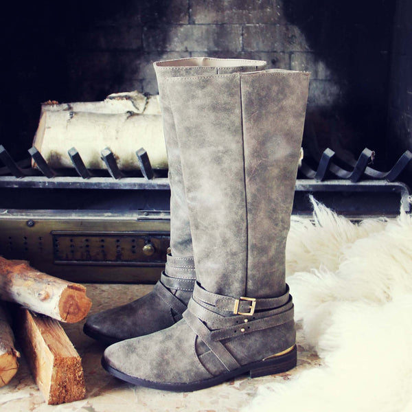 Autumn Frost Boots in Taupe: Featured Product Image