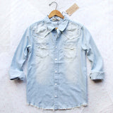 Canyon & Fray Denim Shirt: Alternate View #1