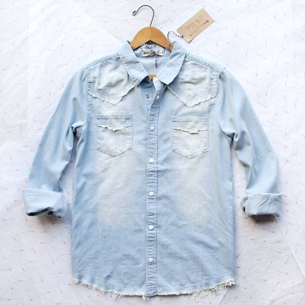 Canyon & Fray Denim Shirt: Featured Product Image