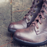 The Chinook Boots in Brown: Alternate View #2