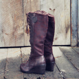 The Chinook Boots in Brown: Alternate View #3