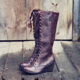 The Chinook Boots in Brown: Alternate View #1