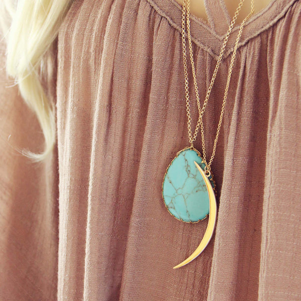 Shadow Moon Necklace: Featured Product Image