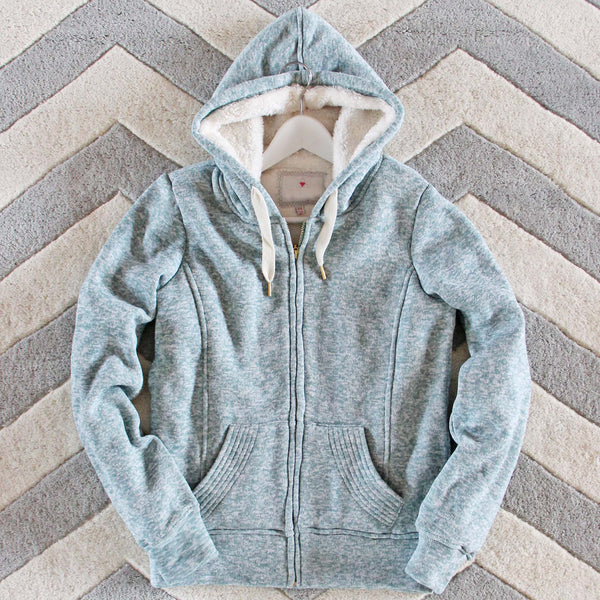Mt. Stewart Hoodie in Sage: Featured Product Image