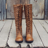 Noble Pine Lace-up Boots: Alternate View #2