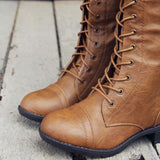 Noble Pine Lace-up Boots: Alternate View #3