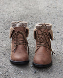 The Nor'Easter Boots in Tan: Alternate View #2