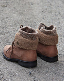 The Nor'Easter Boots in Tan: Alternate View #3