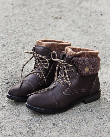 The Nor'Easter Boots in Brown