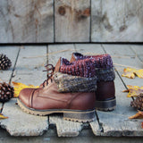 The Nor'wester Boots in Brown: Alternate View #4