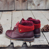 The Nor'wester Boots in Burgundy: Alternate View #3