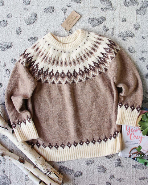 Nordic Knit Sweater: Featured Product Image