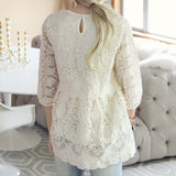 Nordic Lace Blouse: Alternate View #3