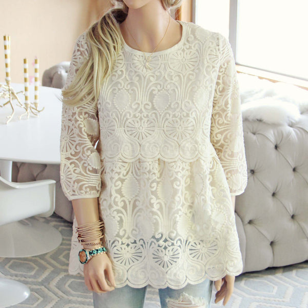 Nordic Lace Blouse: Featured Product Image