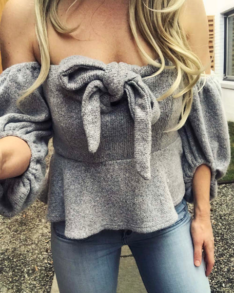 Nordic Lux Sweater Top: Featured Product Image