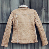 North Cascades Shearling Coat: Alternate View #4