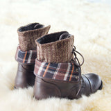 North Lodge Sweater Boots in Brown: Alternate View #3