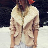 Northwest Blush Coat: Alternate View #1