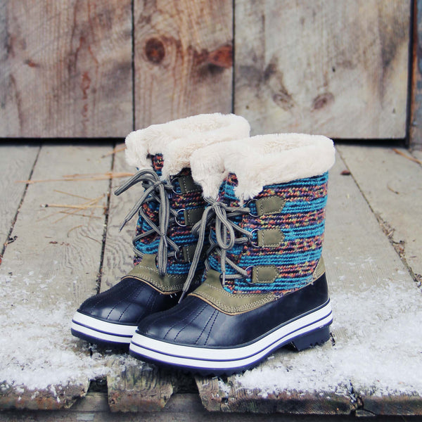Northernly Sweater Snow Boots: Featured Product Image