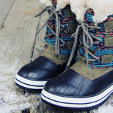 Northernly Sweater Snow Boots: Alternate View #2