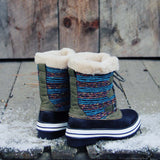 Northernly Sweater Snow Boots: Alternate View #3