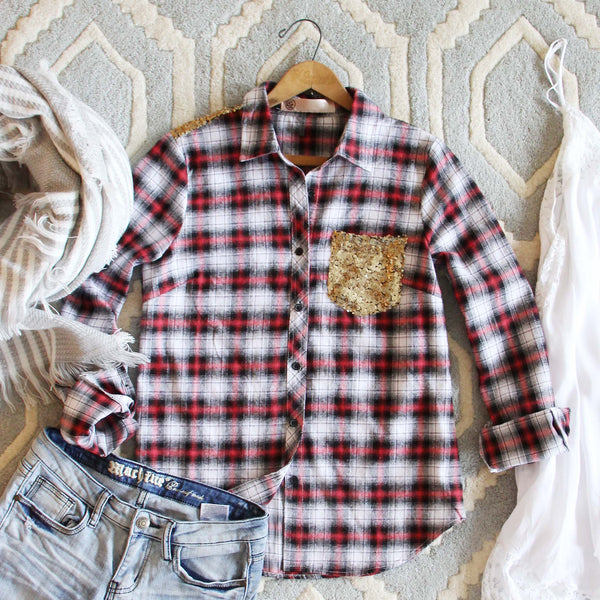 Northwest Stars Plaid Shirt: Featured Product Image