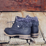 The Nor'wester Boots in Black: Alternate View #2