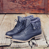 The Nor'wester Boots in Black: Alternate View #1