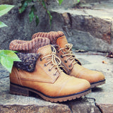 The Nor'wester Boots in Tan: Alternate View #4