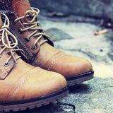 The Nor'wester Boots in Tan: Alternate View #2