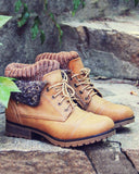 The Nor'wester Boots in Tan: Alternate View #1