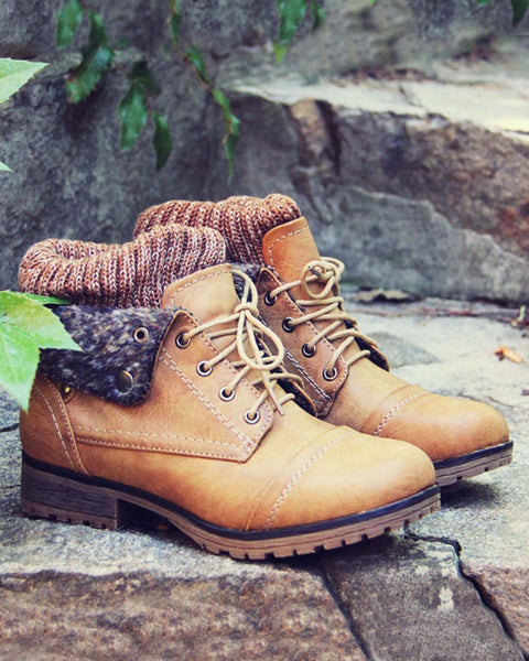 The Nor'wester Boots in Tan: Featured Product Image