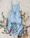 Overall Maxi Dress: Alternate View #2