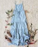 Overall Maxi Dress: Alternate View #1