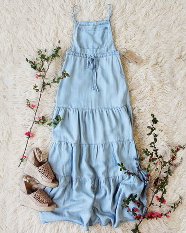 Overall Maxi Dress