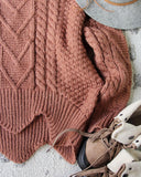 Paige Sweet Sweater in Maple: Alternate View #3