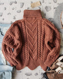 Paige Sweet Sweater in Maple: Alternate View #4