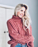 Paige Sweet Sweater in Maple: Alternate View #5