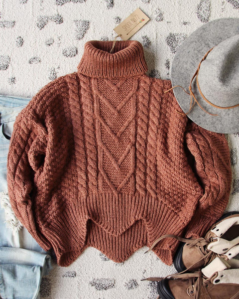 Paige Sweet Sweater in Maple: Featured Product Image