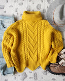 Paige Sweet Sweater in Mustard: Alternate View #3