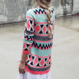 Painted Desert Sweater: Alternate View #4
