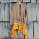 Painted Sky Fringe Sweater: Alternate View #1