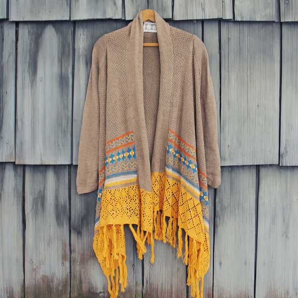 Painted Sky Fringe Sweater: Featured Product Image