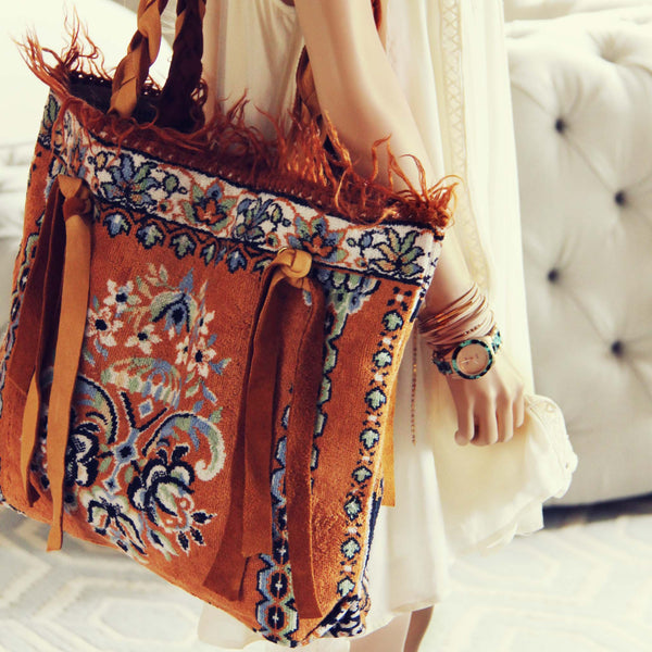 Palm Gypsy Vintage Tote: Featured Product Image