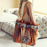 Palm Gypsy Vintage Tote: Alternate View #2