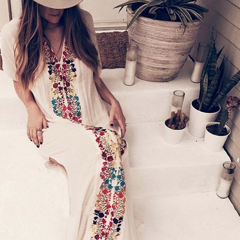 Palm Springs Kaftan Dress